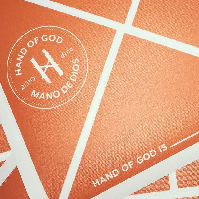 Walls360 Custom Wall Graphics for Hand of God Wines, Argentina