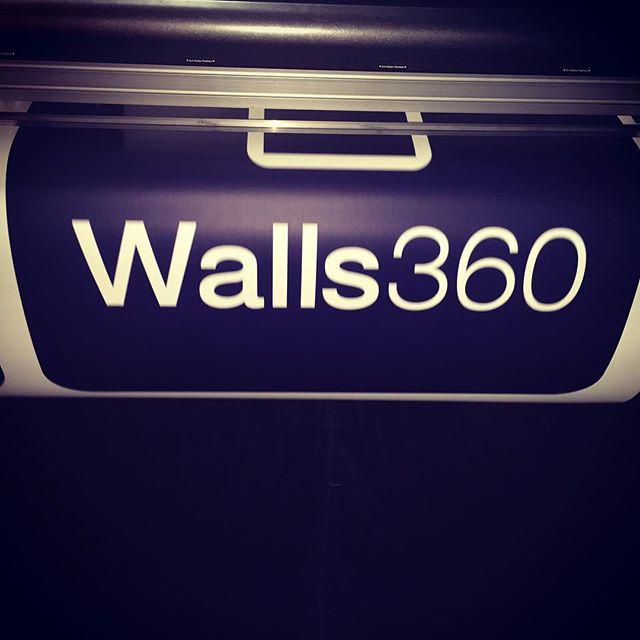 Walls360 custom wall graphics for Juan Muniz at Designer Con #dcon2015
