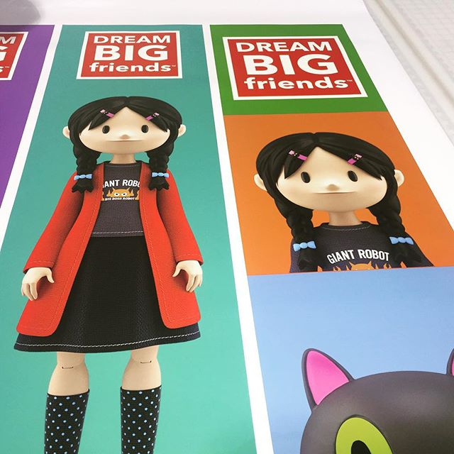 Walls360 custom wall graphics for Dream Big Friends at Designer Con #DCon2015