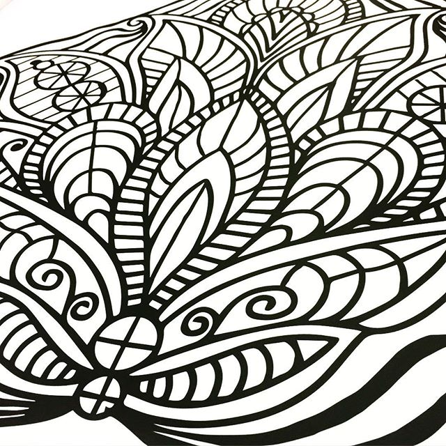COLORING Wall Graphics from Walls360
