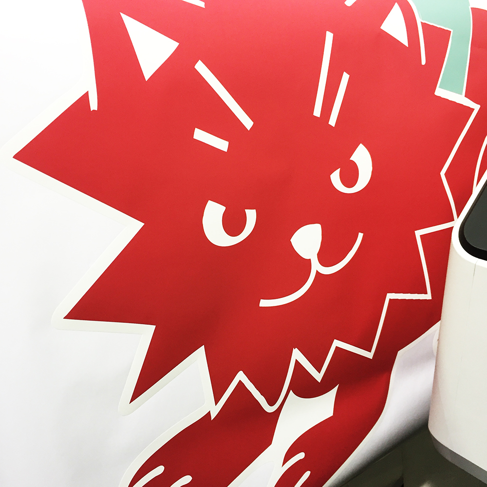 Walls360 Custom Wall Graphics for Meow Wolf