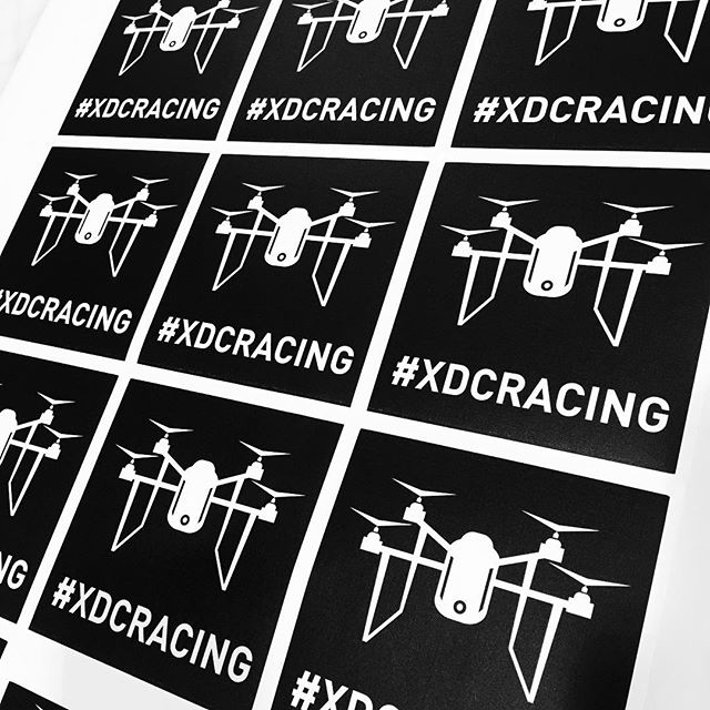 Walls360 custom wall graphics for XDC_TWO Xtreme Drone Circuit Racing in Downtown Las Vegas #XDCRacing