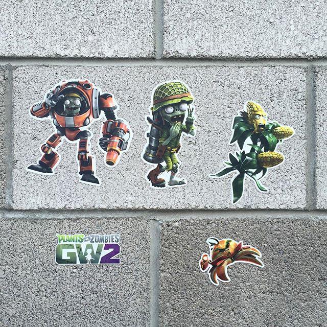 Plants vs. Zombies Garden Warfare 2 wall graphics from Walls360 #PvZGW2