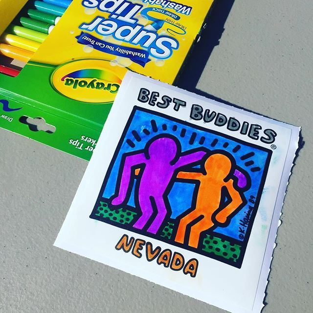 Best Buddies Nevada Friendship Walk 2016 at Bishop Gorman High School, Las Vegas #ColoringParty