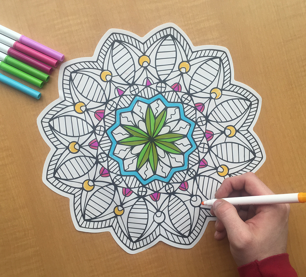 March 2016 is Walls360 Coloring Month