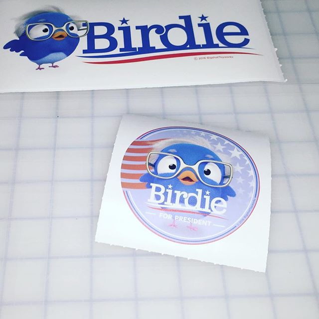 Walls360 custom wall graphics for Bigshot Toyworks #BirdieSanders