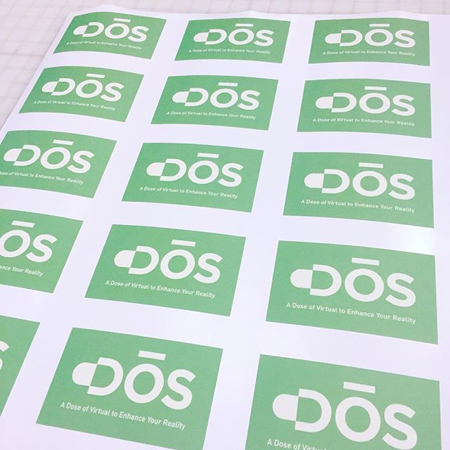 Walls360 custom wall graphics for DOS VR launch #DosVR