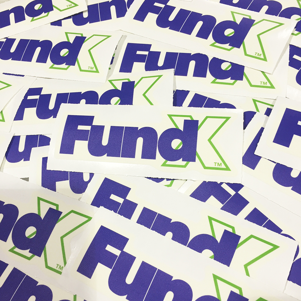 Walls360 custom graphics for FundX in San Francisco #lendit2016
