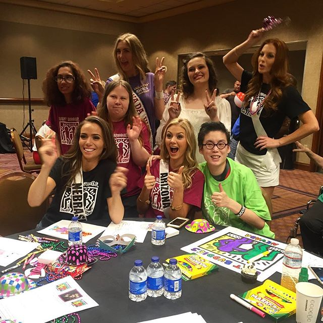 Best Buddies Nevada + Miss USA Coloring Party #BestBuddiesNV