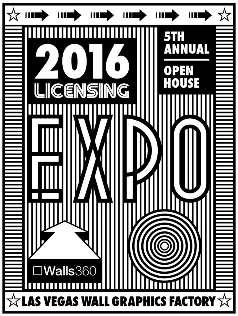 Walls360 Las Vegas 2016 Open House #LicensingExpo #Licensing16