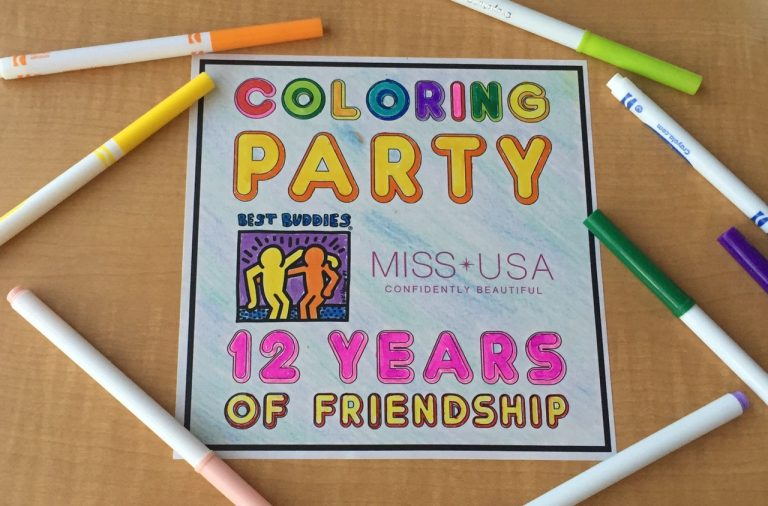 Best Buddies Nevada + Miss USA Coloring Party
