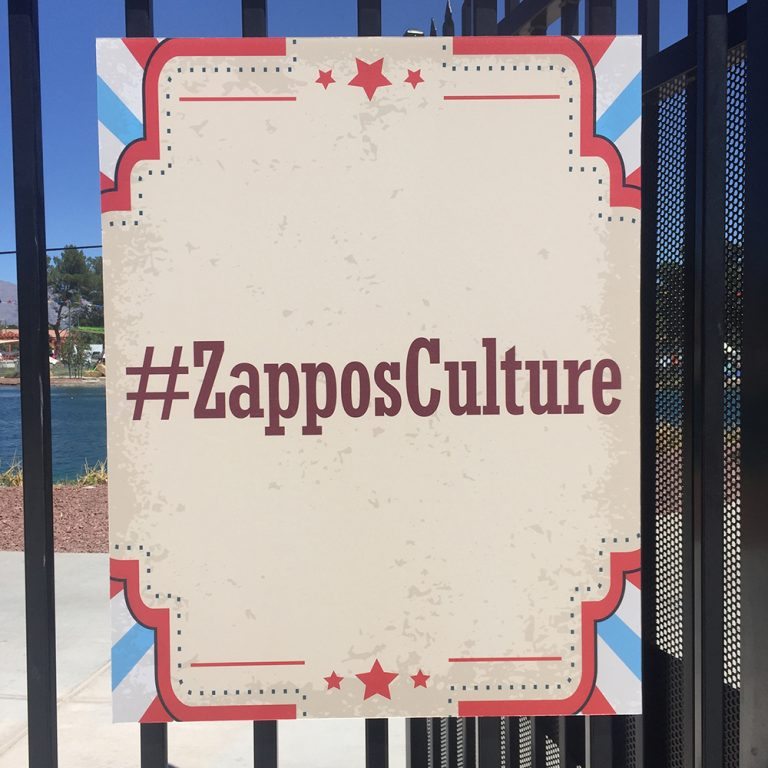 Walls360 custom wall graphics for Zappos #ZapposCulture