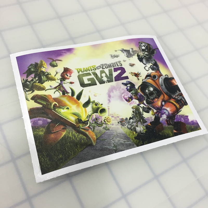 Walls360 custom Garden Warfare 2 wall graphics for Geek Fuel #PvZ #GW2 #GeekFuel