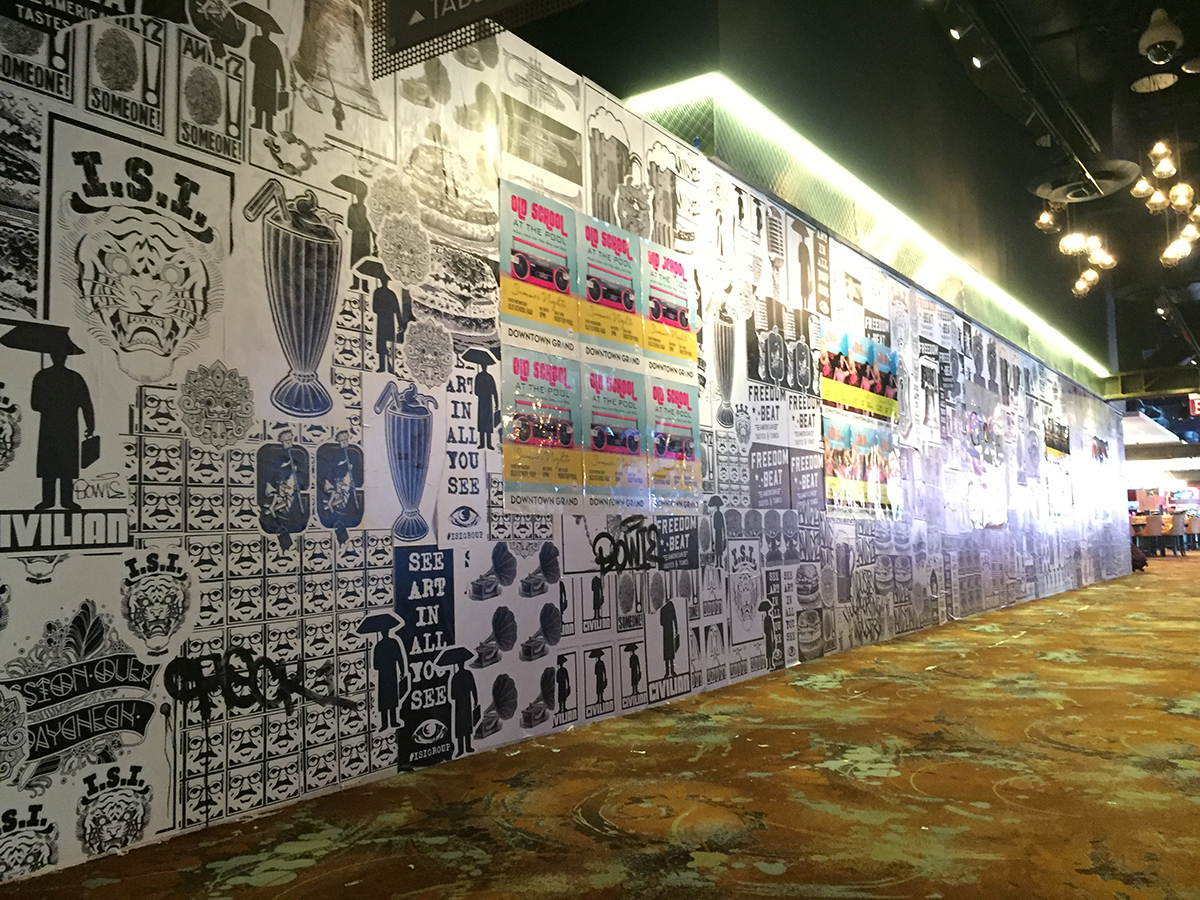 Walls360 custom graphics for The I.S.I. Group at the Downtown Grand Hotel #LasVegas