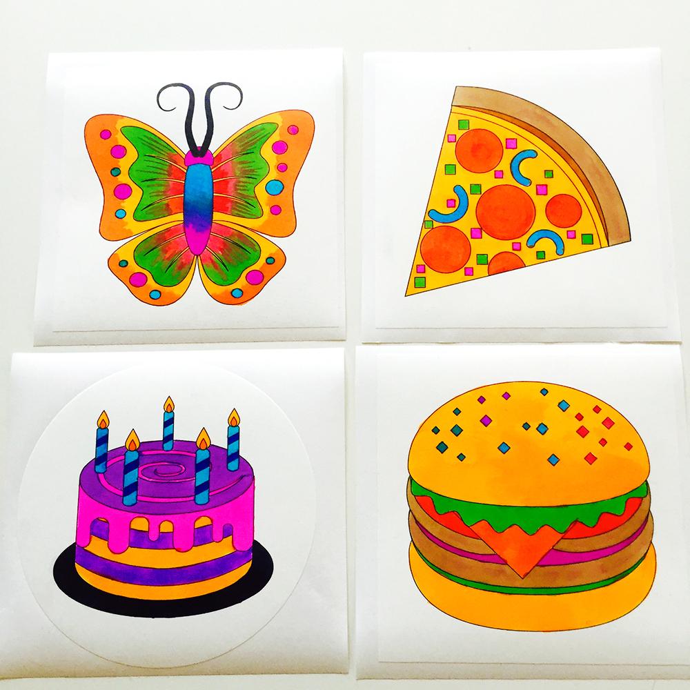 EmojiOne wall graphics from Walls360 + New COLORING Emojis #EmojiOne #Walls360