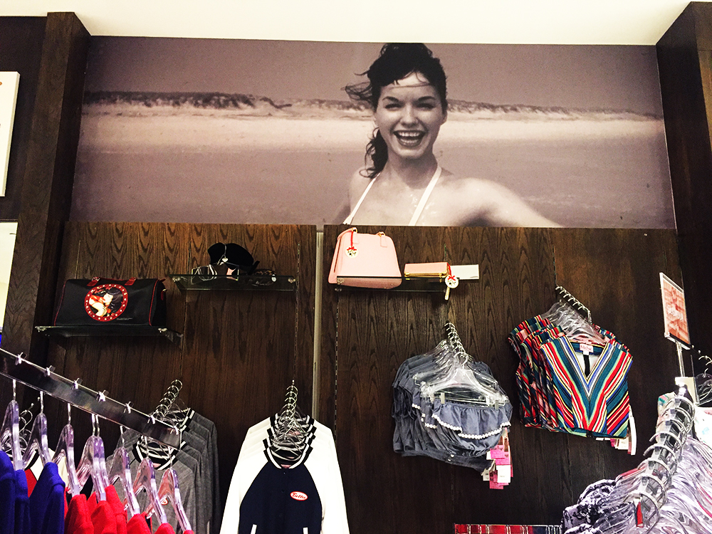 Walls360 Custom Wall-to-Wall Graphics for the New Bettie Page Store in Santa Monica