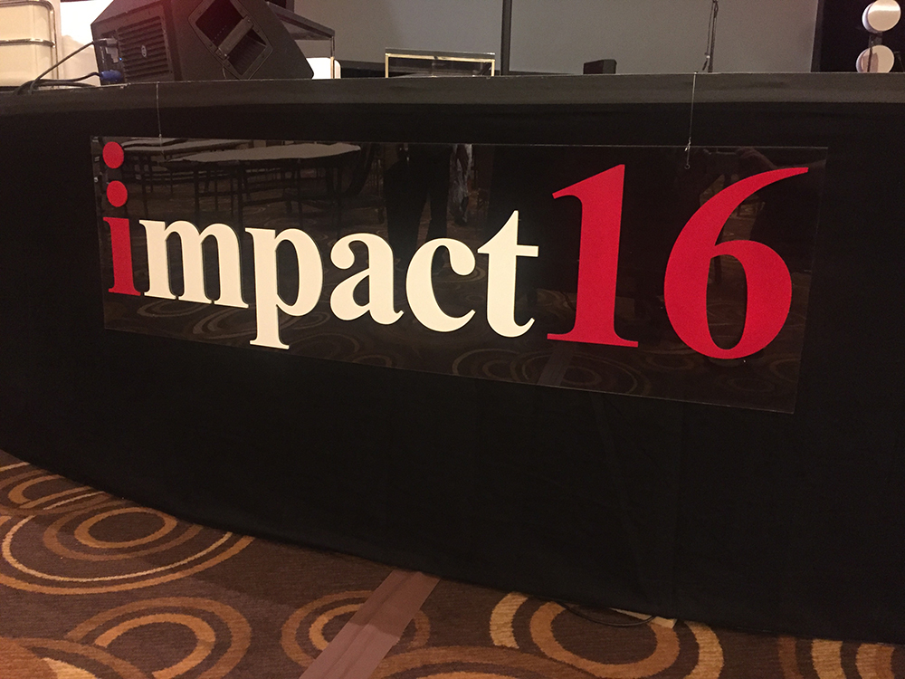 Walls360 Custom Wall Graphics for Internet Marketing Association #Impact16
