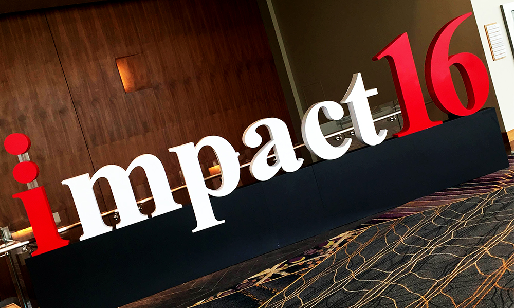 Walls360 Custom Wall Graphics for The Internet Marketing Association #IMA #Impact16