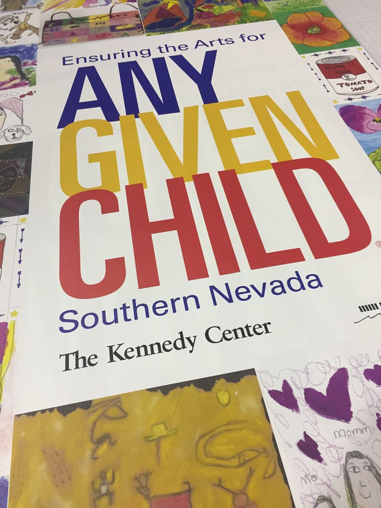 Walls360 custom wall graphics for Any Given Child at the Smith Center in Las Vegas #AnyGivenChild #CCSD
