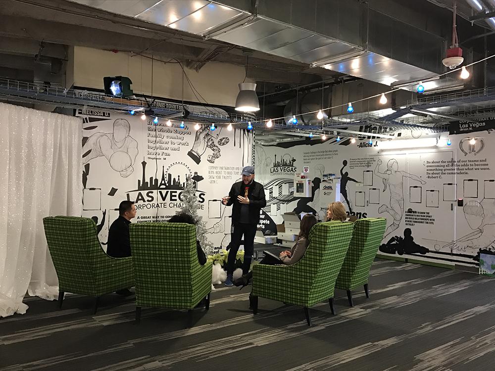 Big Wall Graphics at Zappos!