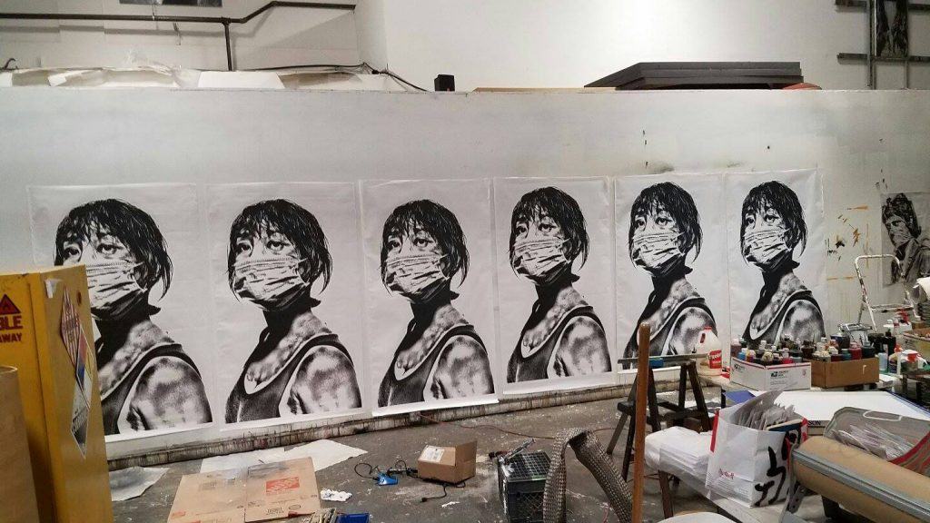 Walls360 custom wall graphics for Eddie Colla: Banglamphu Editions #1xRun