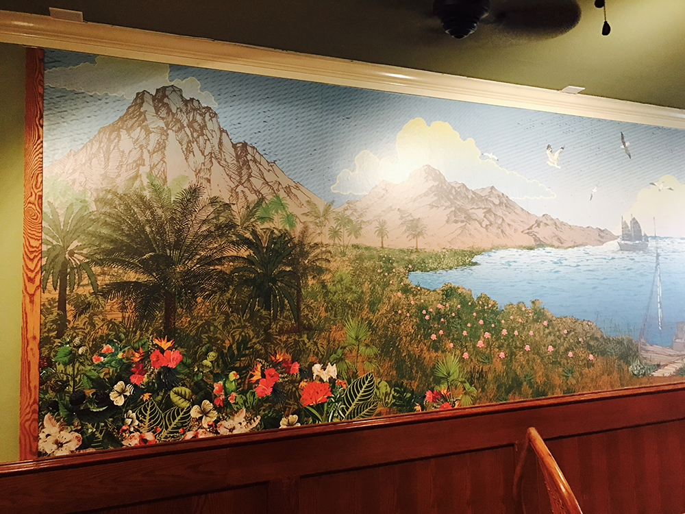 Walls360 custom wall-to-wall graphics for Starboard Tack in Las Vegas NV #Walls360 #BigWallGraphics