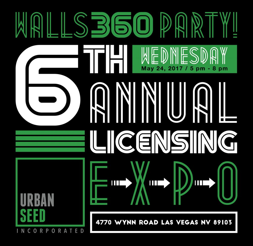 Walls360 Licensing Expo 2017 Party at Urban Seed in Las Vegas #Licensing2017
