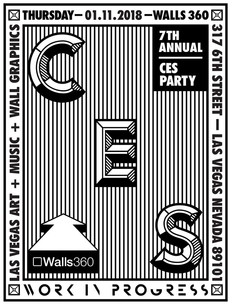 SEVENTH ANNUAL Walls360 LAS VEGAS WINTER CES PARTY #CES2018 #DTLV
