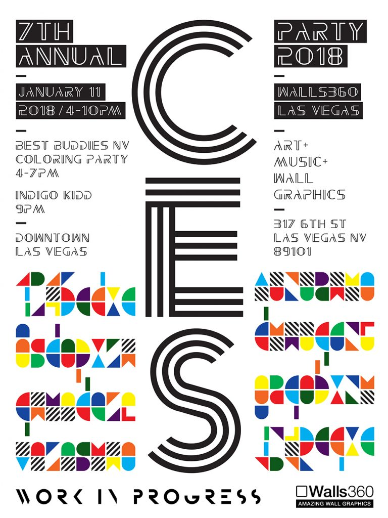 SEVENTH ANNUAL Walls360 LAS VEGAS CES PARTY #CES2018 #DTLV