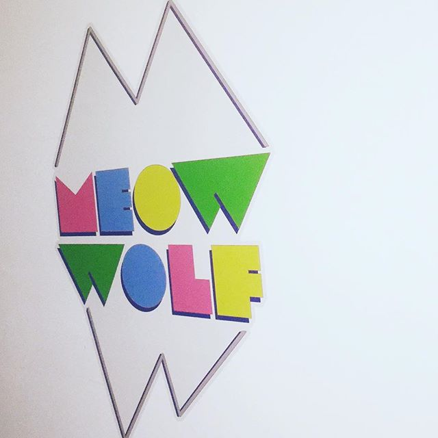 Walls360 custom wall graphics for MEOW WOLF in Las Vegas! #MeowWolf #Area15